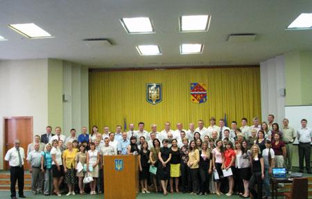 Міжнародний навчальний семінар підвищення кваліфікації учасники